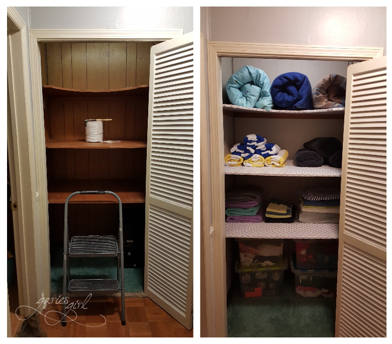 Hall Closet - Before & After