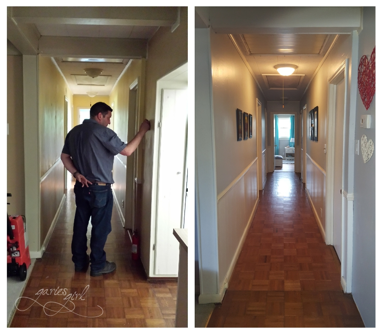 Hallway - Before & After