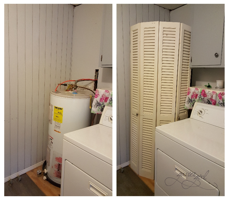 Laundry Room - Hiding the Water Heater