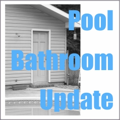 Pool Bathroom Update