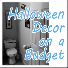 Halloween Decor on a Budget - GariesGirl