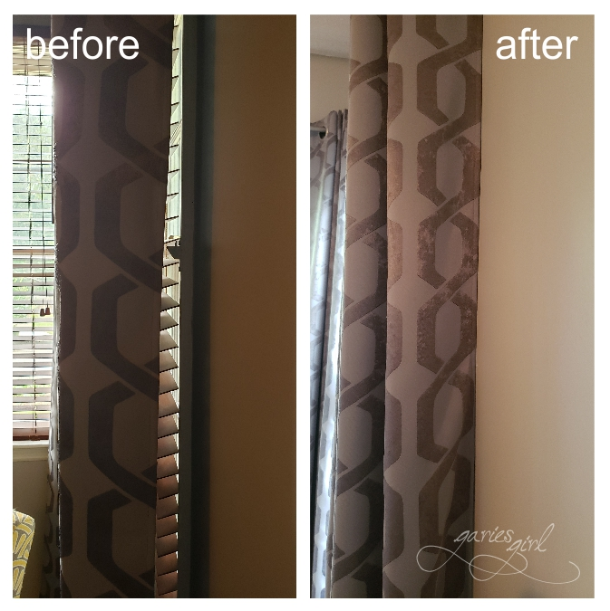 Curtain Gap - Before & After