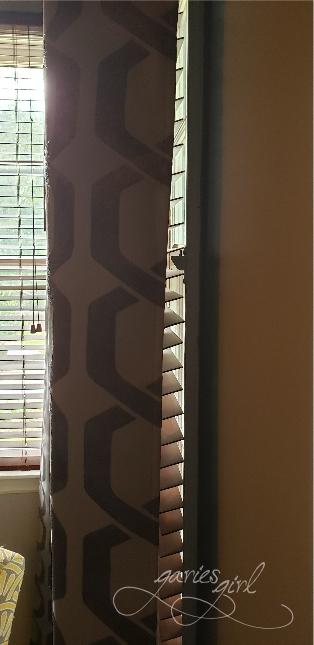 Curtain Gap - Before