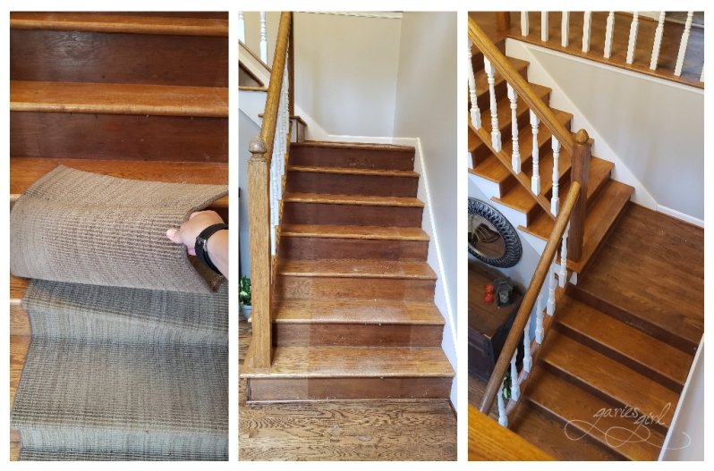 Stair Runner Prepwork