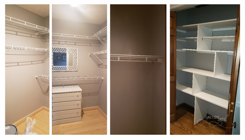 Closets Painted