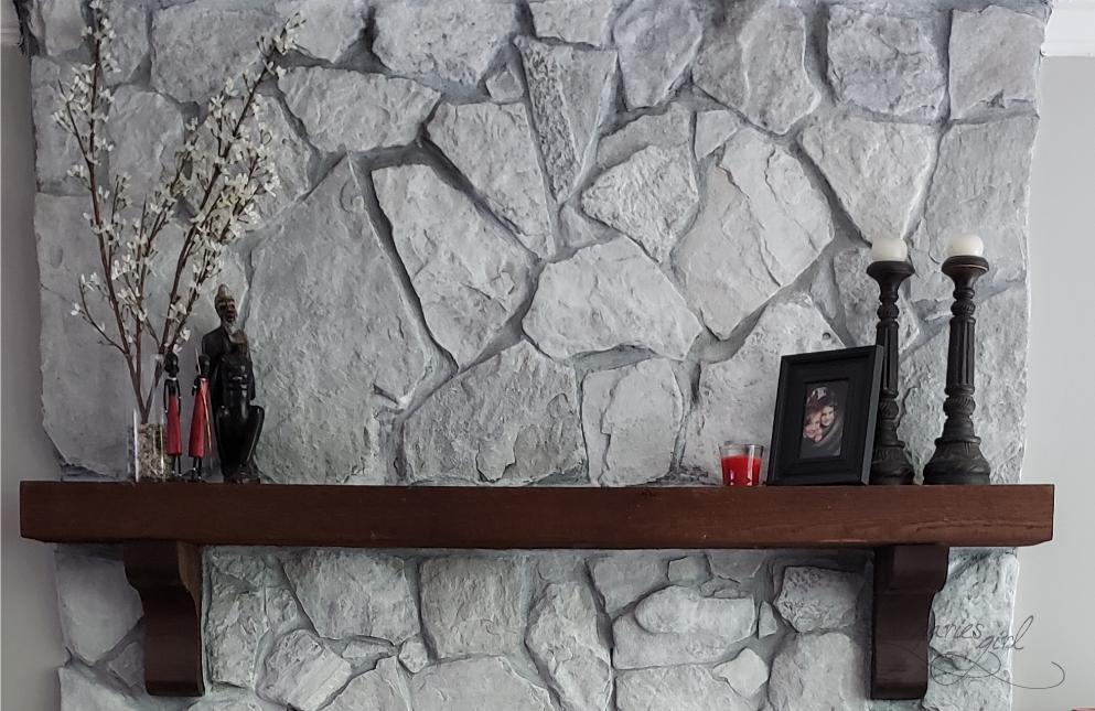Fireplace Mantel - Styling