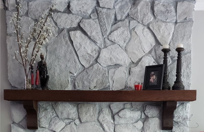 Fireplace Mantel - Styling