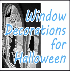 Window Decorations for Halloween