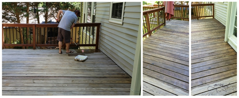 Deck Refresh - During
