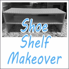 Garies Girl - Shoe Shelf Makeover