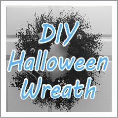 DIY Halloween Wreath - GariesGirl