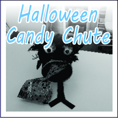 Halloween Candy Chute - Garies Girl