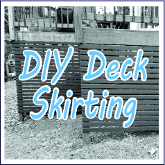 DIY Deck Skirting - Garies Girl