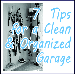 7 Tips for a Clean and Organized Garage - Garies Girl