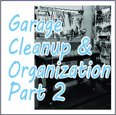 Garage Cleanup and Organization - Garies Girl
