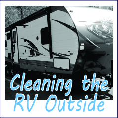 Cleaning the Outside of the RV - Garies Girl