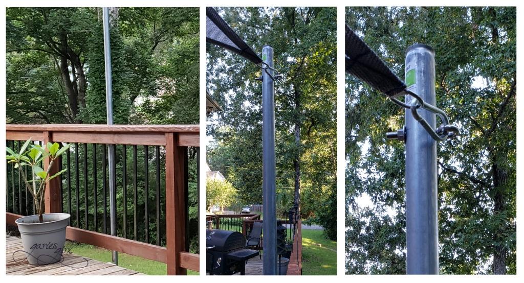 Deck String Lights - Posts - Garies Girl