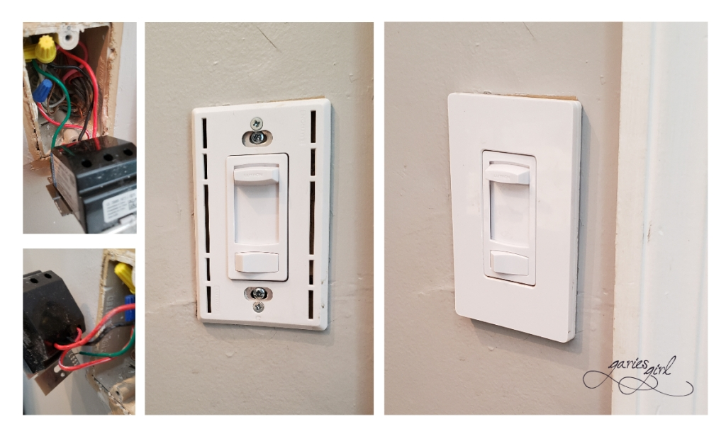 10 Days of Small Fixes - Light Switch - Garies Girl