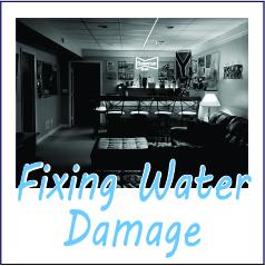 Fixing Water Damage - Garies Girl