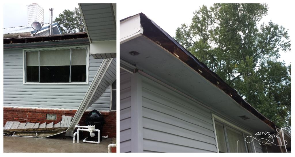 Rome Roof Damage - Garies Girl