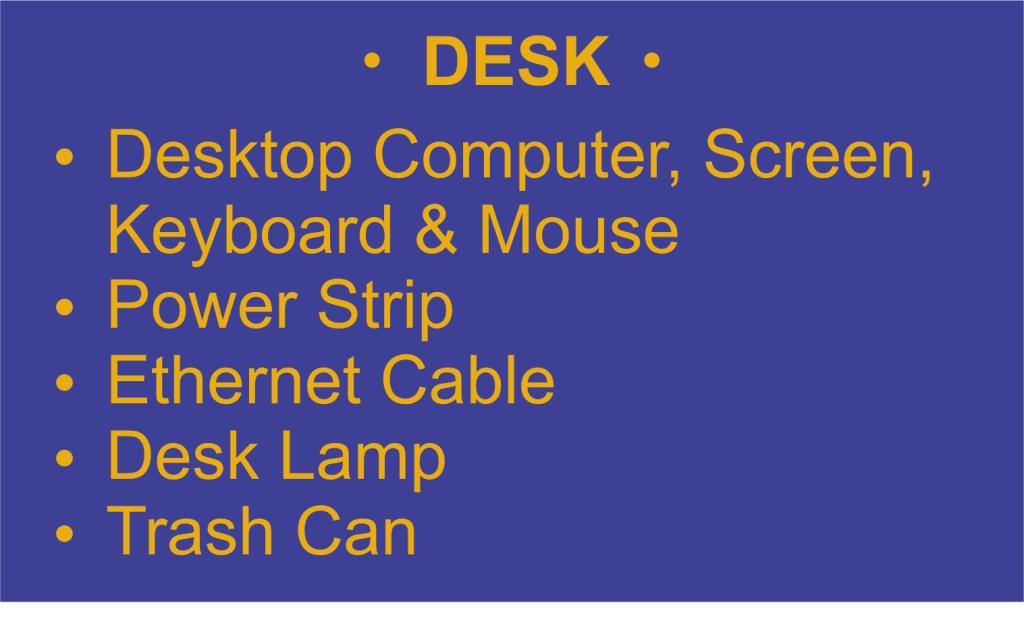 List - Desk - Garies Girl