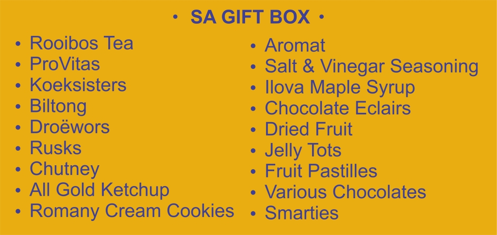 List - Gift Box - Garies Girl