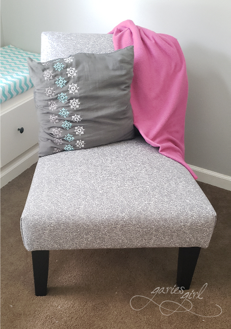 Chair Makeover - Garies Girl