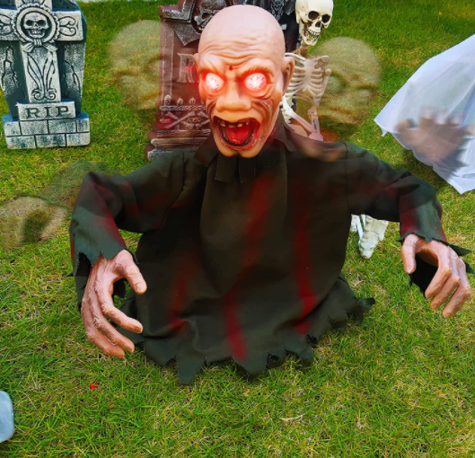 Halloween Crawling Zombie - Garies Girl