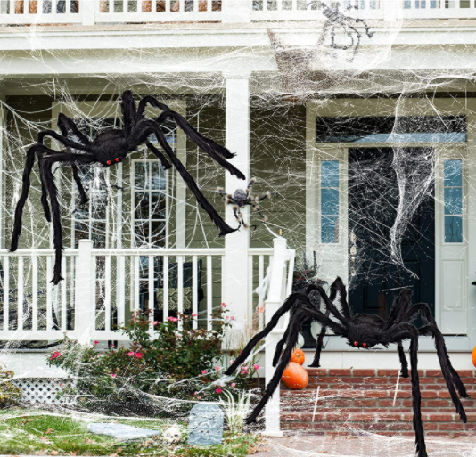 Halloween Giant Spider - Garies Girl