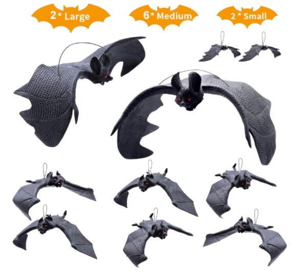 Halloween Hanging Bats - Garies Girl